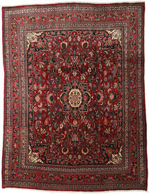 Bidjar Matta 260X347 Äkta Orientalisk Handknuten Mörkröd/Mörkbrun Stor (Ull, Persien/Iran)