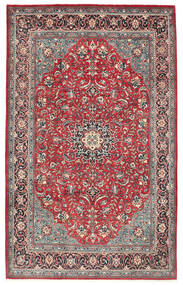 Mahal Rug 215X340 Authentic Oriental Handknotted Dark Red/Beige (Wool, Persia/Iran)