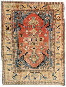 Heriz Matta 259X331 Äkta Orientalisk Handknuten Mörkbeige/Mörkgrå Stor (Ull, Persien/Iran)