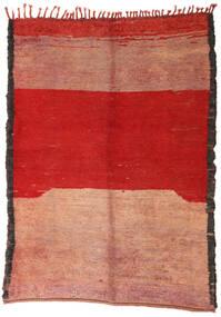 Berber Moroccan - Beni Ourain 絨毯 184X253 モダン 手織り 錆色/薄茶色 (ウール, モロッコ)