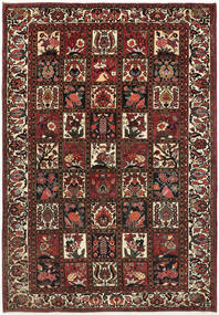 Bakhtiari Rug 210X300 Authentic Oriental Handknotted Dark Red/Dark Brown (Wool, Persia/Iran)