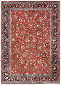 サルーク 絨毯 214X302 オリエンタル 手織り 深紅色の/薄い灰色 (ウール, ペルシャ/イラン)