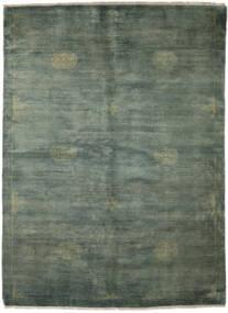 Huttan Teppich 168X232 Echter Orientalischer Handgeknüpfter Dunkelgrün/Dunkel Türkis (Wolle, Pakistan)