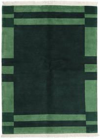 Gabbeh Indo Matto 170X230 Moderni Käsinsolmittu Tumma Turkoosi/Tummanvihreä (Villa, Intia)