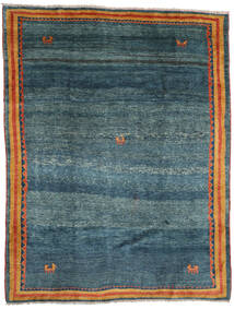 Gabbeh Rustic Rug 193X252 Authentic  Modern Handknotted Dark Blue/Blue (Wool, Persia/Iran)