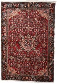 Hamadan Sag 139X208 Autentični  Orijentalni Ručno Uzlan Tamnocrvena (Vuna, Perzija/Iran)