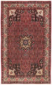Bidjar Matta 203X325 Äkta Orientalisk Handknuten Mörkbrun/Mörkröd (Ull, Persien/Iran)
