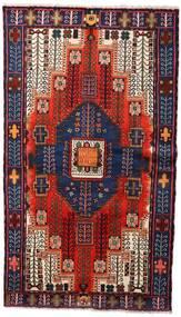 Nahavand Teppe 135X230 Ekte Orientalsk Håndknyttet Mørk Rød/Mørk Blå (Ull, Persia/Iran)