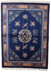 Chinois Finition Antique Tapis 168X229 D'orient Fait Main Bleu Foncé/Violet Foncé (Laine, Chine)