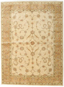 Ziegler Rug 171X230 Authentic Oriental Handknotted Light Brown/Dark Beige/Beige (Wool, Pakistan)