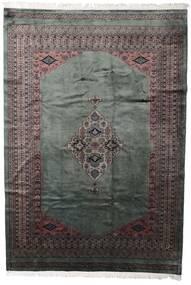 パキスタン ブハラ 3Ply 絨毯 203X295 オリエンタル 手織り 濃いグレー/黒 (ウール, パキスタン)