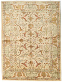 Ziegler Rug 170X223 Authentic Oriental Handknotted Beige/Dark Beige (Wool, Pakistan)