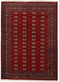 パキスタン ブハラ 2Ply 絨毯 217X300 オリエンタル 手織り 赤/深紅色の/濃い茶色 (ウール, パキスタン)
