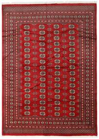 パキスタン ブハラ 2Ply 絨毯 218X305 オリエンタル 手織り 深紅色の/赤 (ウール, パキスタン)