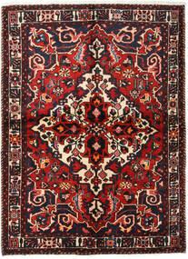 Baktjar Dywan 155X213 Orientalny Tkany Ręcznie Ciemnobrązowy/Ciemnoczerwony (Wełna, Persja/Iran)