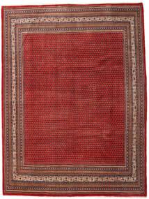 Sarough Mir Tapis 273X363 D'orient Fait Main Rouge Foncé/Rouille/Rouge Grand (Laine, Perse/Iran)