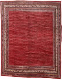 Sarouk Mir Rug 290X361 Authentic Oriental Handknotted Dark Red/Crimson Red Large (Wool, Persia/Iran)