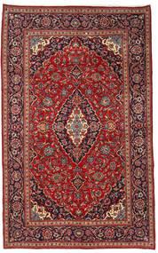 Keshan Matto 210X340 Itämainen Käsinsolmittu Tummanpunainen/Musta (Villa, Persia/Iran)