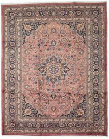 Mashad Alfombra 256X320 Oriental Hecha A Mano Marrón Claro/Marrón Grande (Lana, Persia/Irán)