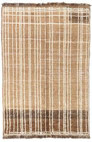 Moroccan Berber - Afganistan 絨毯 92X135 モダン 手織り 暗めのベージュ色の/ベージュ (ウール, アフガニスタン)