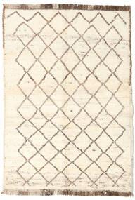 Moroccan Berber - Afganistan 絨毯 90X127 モダン 手織り ベージュ/薄い灰色 (ウール, アフガニスタン)