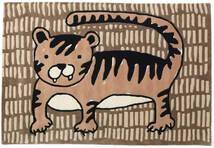 Cool Cat - Beige Rug 120X180 Modern Brown/Light Brown (Wool, India)