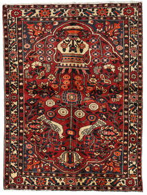 Bakhtiari Rug 156X209 Authentic Oriental Handknotted Dark Red/Dark Brown (Wool, Persia/Iran)