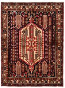 Afshar Shahre Babak Tapis 178X236 D'orient Fait Main Rouge Foncé/Marron Foncé (Laine, Perse/Iran)