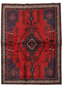 Afshar Tappeto 166X222 Orientale Fatto A Mano Ruggine/Rosso/Marrone Scuro/Rosso Scuro (Lana, Persia/Iran)