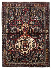 Afszar Shahre Babak Dywan 136X185 Orientalny Tkany Ręcznie Ciemnoczerwony/Jasnobrązowy (Wełna, Persja/Iran)