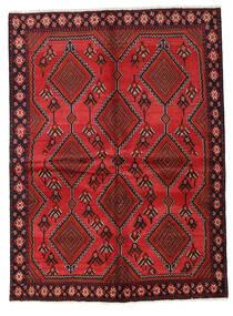 Afshar Teppe 149X204 Ekte Orientalsk Håndknyttet Mørk Rød/Rust (Ull, Persia/Iran)