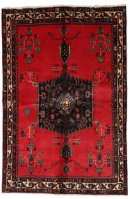 Afshar Tappeto 153X228 Orientale Fatto A Mano Rosso/Marrone Scuro (Lana, Persia/Iran)