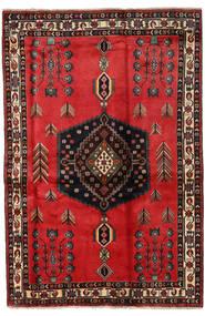 Afshar Tappeto 167X251 Orientale Fatto A Mano Marrone Scuro/Ruggine/Rosso (Lana, Persia/Iran)
