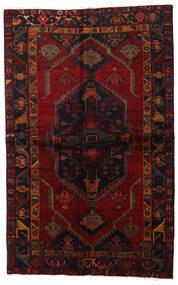 Lori Matta 143X226 Äkta Orientalisk Handknuten Mörkbrun/Mörkröd (Ull, Persien/Iran)