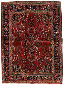 Lillian Rug 160X218 Authentic  Oriental Handknotted Dark Red/Dark Brown (Wool, Persia/Iran)