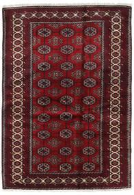 Beluch Matta 127X184 Äkta Orientalisk Handknuten Mörkröd/Mörkbrun (Ull, Persien/Iran)