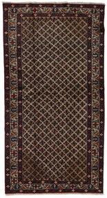 バルーチ 絨毯 110X212 オリエンタル 手織り 濃い茶色/深紅色の (ウール, ペルシャ/イラン)