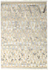 Pet Yarn Kilim Dywan 160X230 Nowoczesny Tkany Ręcznie Jasnoszary/Ciemnobeżowy ( Indie)
