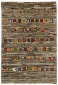 Gabbeh Persia Matto 118X178 Moderni Käsinsolmittu Vaaleanharmaa/Tummanruskea (Villa, Persia/Iran)