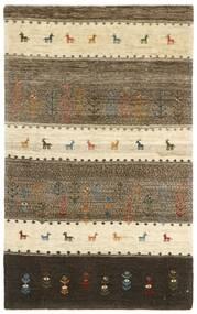 Gabbeh Persisch Teppich 120X201 Echter Moderner Handgeknüpfter Beige/Hellbraun (Wolle, Persien/Iran)