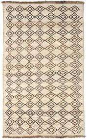 Moroccan Berber - Afghanistan 絨毯 110X182 モダン 手織り ベージュ/茶 (ウール, アフガニスタン)