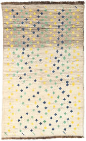 Moroccan Berber - Afganistan 絨毯 113X186 モダン 手織り ベージュ/薄い灰色 (ウール, アフガニスタン)
