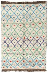 Moroccan Berber - Afganistan 絨毯 89X122 モダン 手織り ベージュ/暗めのベージュ色の (ウール, アフガニスタン)