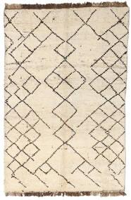 Moroccan Berber - Afghanistan 絨毯 88X130 モダン 手織り ベージュ/薄い灰色 (ウール, アフガニスタン)