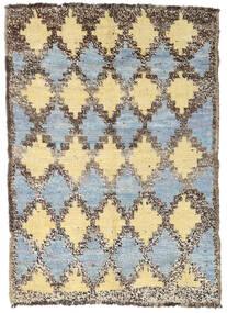Moroccan Berber - Afghanistan 絨毯 94X131 モダン 手織り 薄い灰色/暗めのベージュ色の (ウール, アフガニスタン)