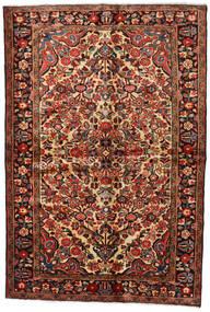 Lillian Vloerkleed 148X218 Echt Oosters Handgeknoopt Donkerbruin/Donkerrood (Wol, Perzië/Iran)