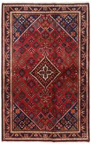 Hamadan Sag 132X206 Autentični  Orijentalni Ručno Uzlan Tamnocrvena/Tamnosmeđa (Vuna, Perzija/Iran)