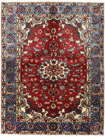 Nahavand Χαλι 155X200 Ανατολής Χειροποιητο Σκούρο Κόκκινο/Σκούρο Καφέ (Μαλλί, Περσικά/Ιρανικά)