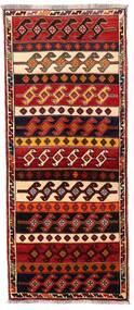 Ghashghai Covor 79X190 Orientale Lucrat Manual Roșu-Închis/Maro Închis (Lână, Persia/Iran)