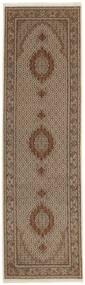 Tabriz 50 Raj Covor 91X303 Orientale Lucrat Manual (Lână/Mătase, Persia/Iran)